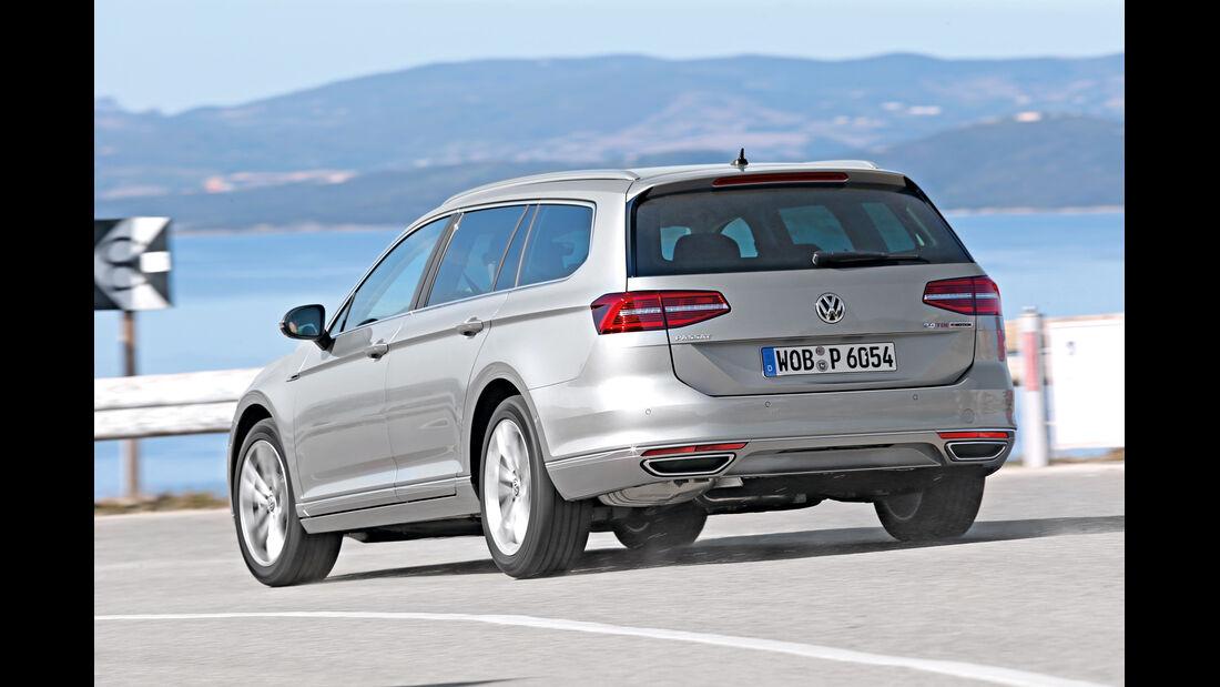 VW Passat Variant 2.0 TDI 4Motion, Heckansicht
