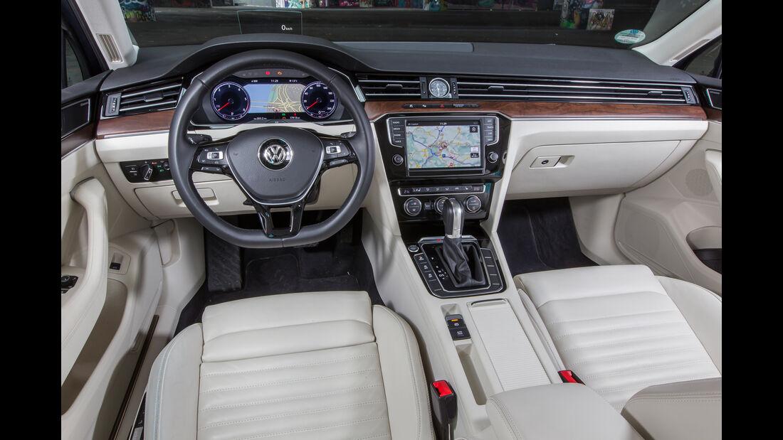 VW Passat Variant 2.0 TDI 4Motion Highline, Cockpit