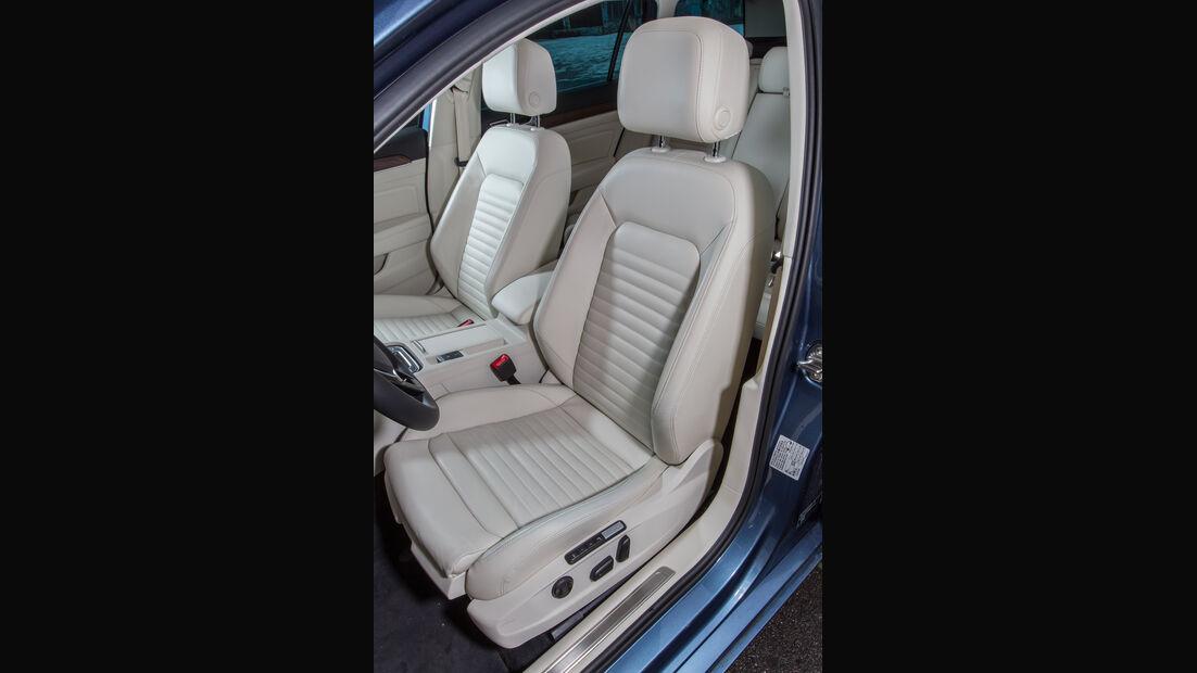 VW Passat Variant 2.0 TDI 4Motion Highline, Fahrersitz