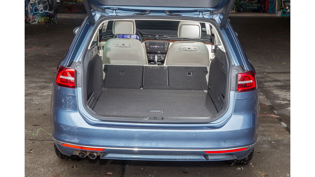 VW Passat Variant 2.0 TDI 4Motion Highline, Kofferraum