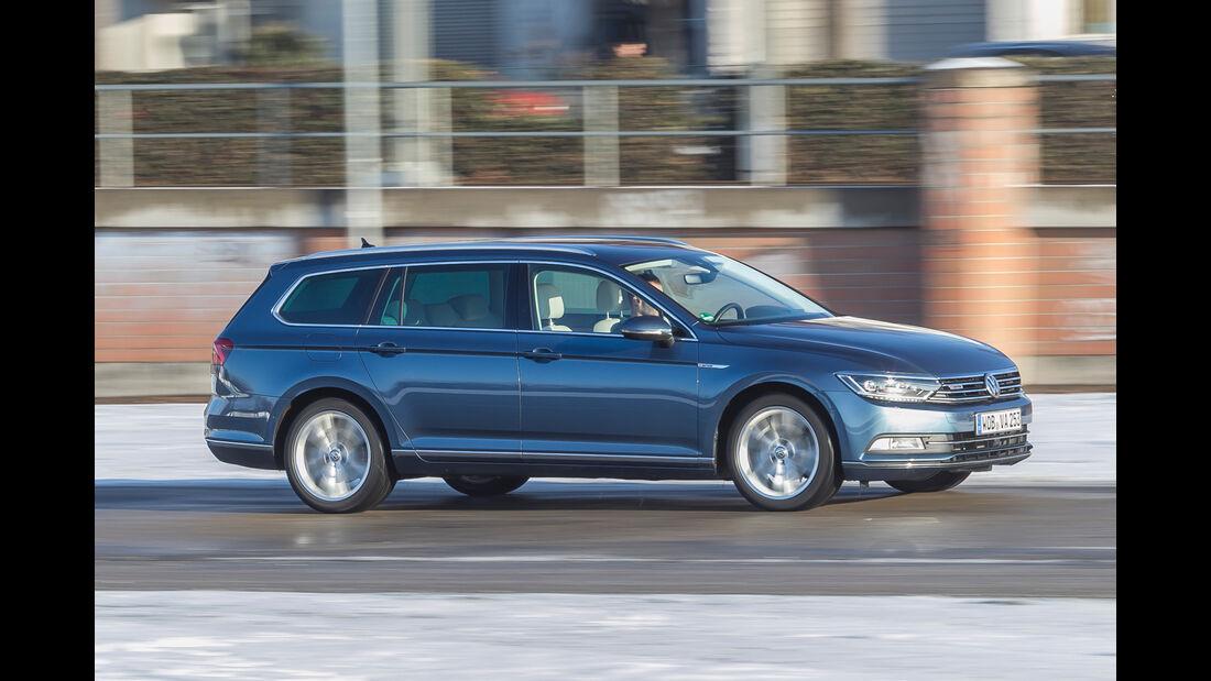 VW Passat Variant 2.0 TDI 4Motion Highline, Seitenansicht
