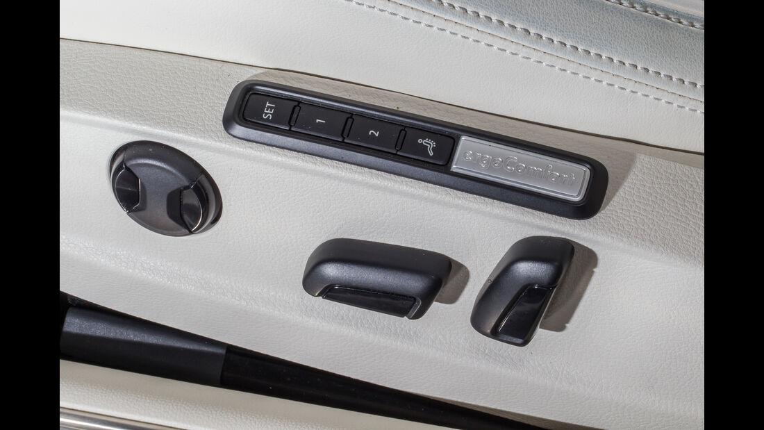 VW Passat Variant 2.0 TDI 4Motion Highline, Sitzverstellung