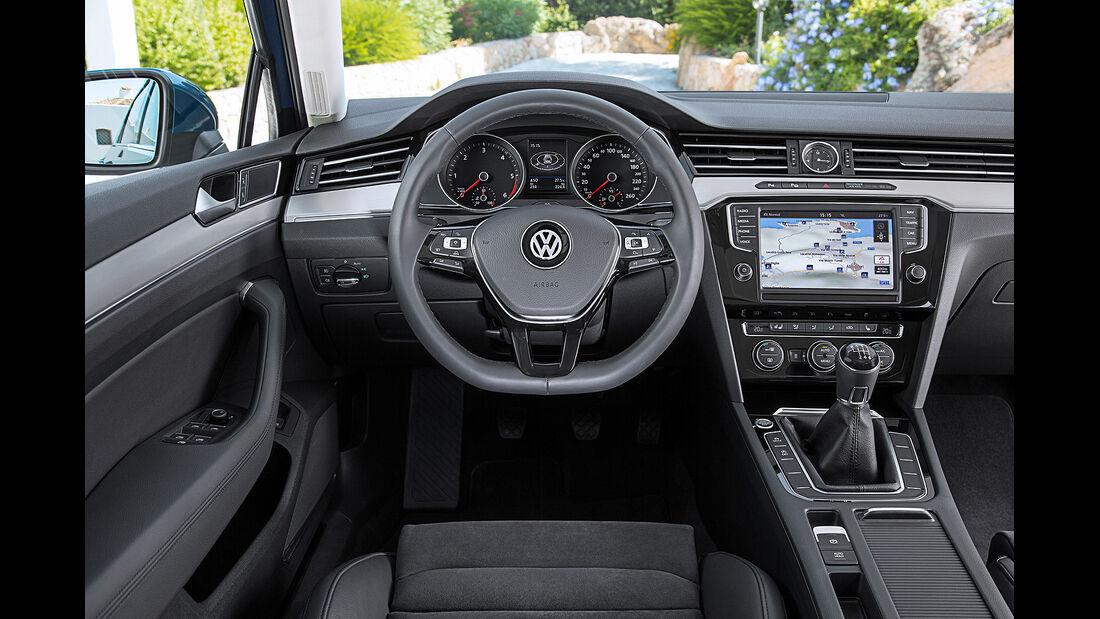 VW Passat Variant 2.0 TDI 4Motion, Innenraum, Cockpit