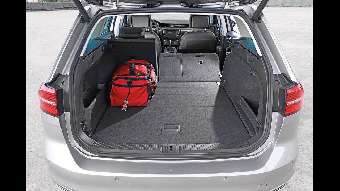 VW Passat Variant 2.0 TDI 4Motion, Kofferraum
