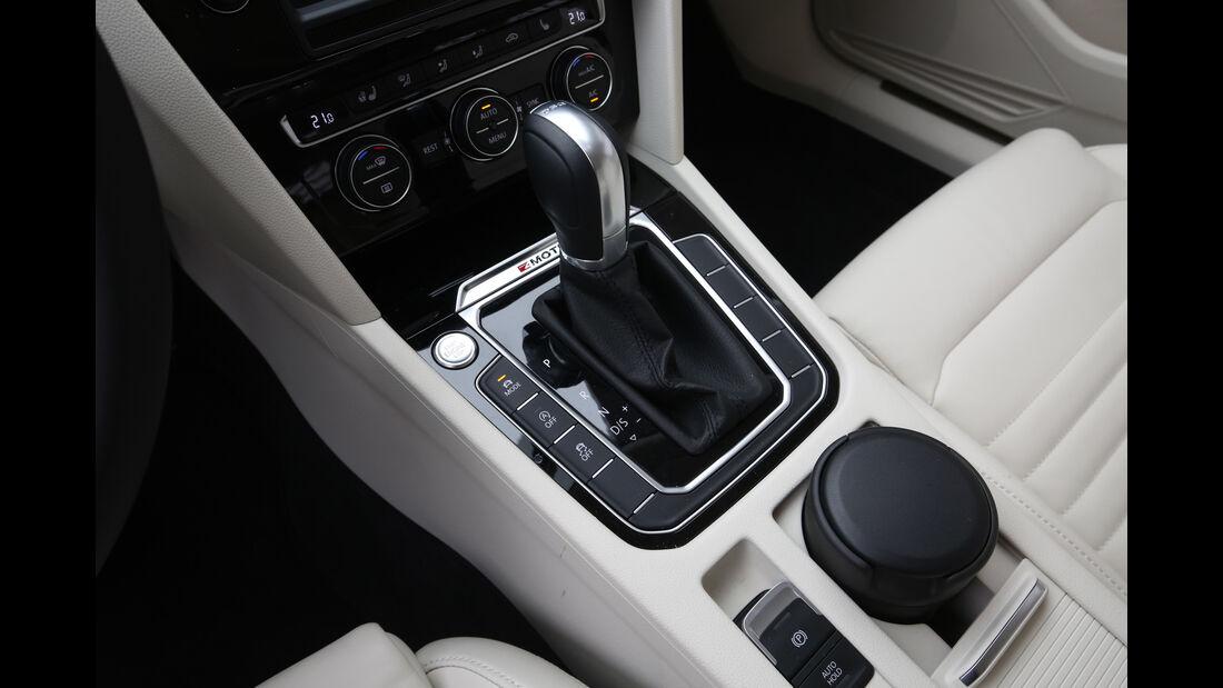 VW Passat Variant 2.0 TDI 4Motion, Schalthebel