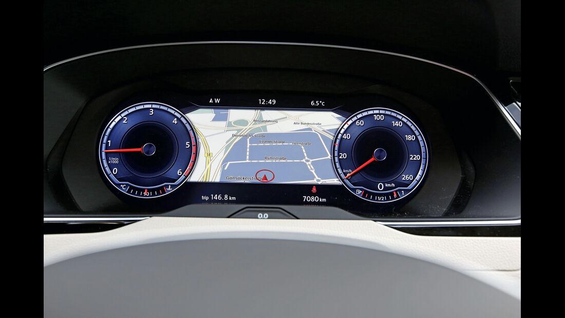 VW Passat Variant 2.0 TDI, Anzeigeinstrumente