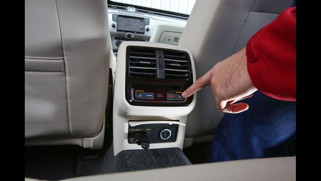 VW Passat Variant 2.0 TDI, Bedienelemente