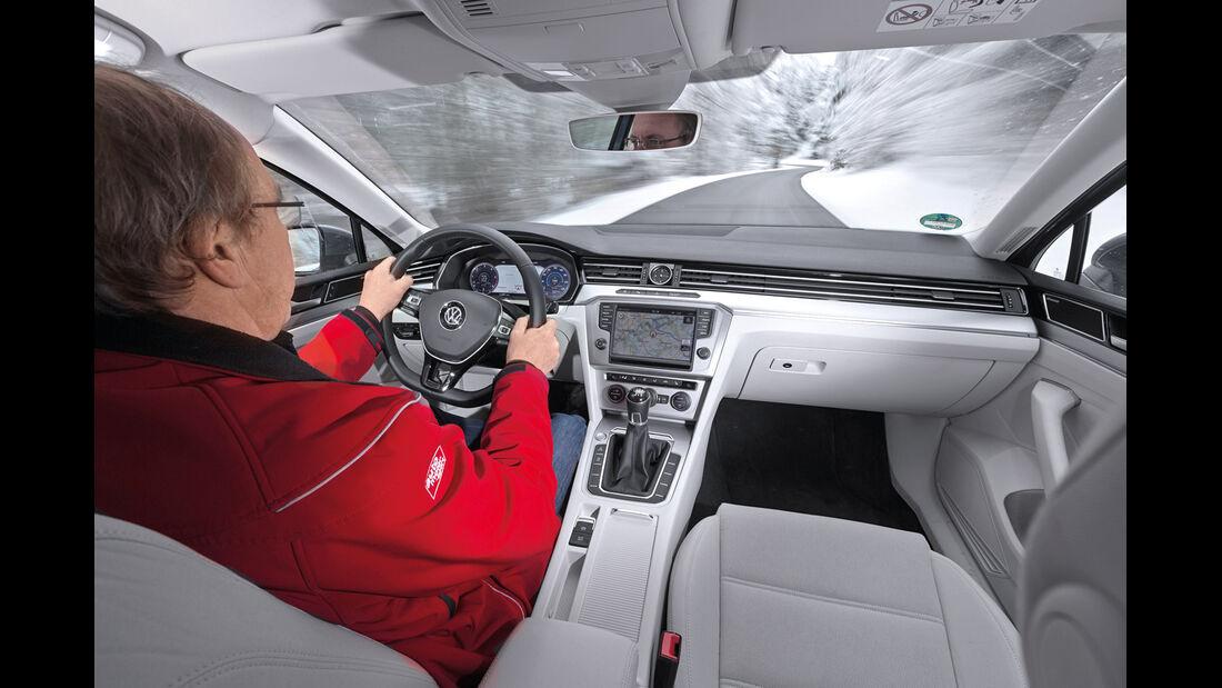 VW Passat Variant 2.0 TDI, Cockpit