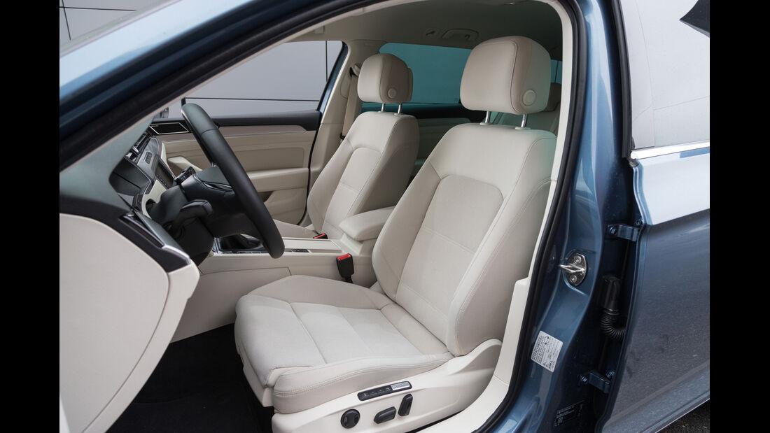 VW Passat Variant 2.0 TDI, Fahrersitz