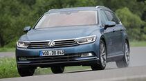 VW Passat Variant 2.0 TDI, Frontansicht