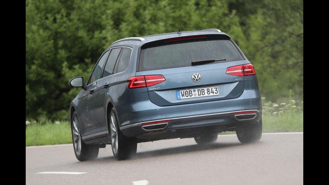 VW Passat Variant 2.0 TDI, Heckansicht