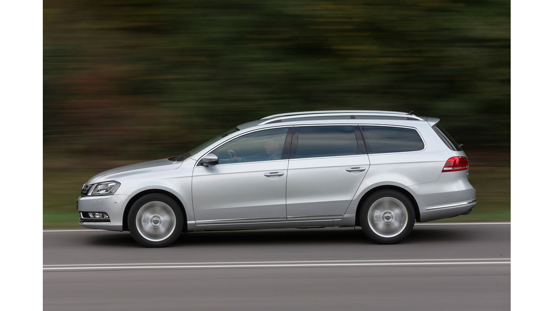 VW Passat Variant 2.0 TDI Highline, Seitenansicht