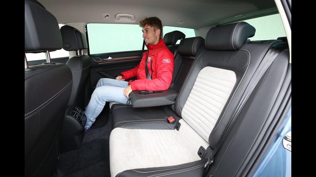VW Passat Variant 2.0 TDI, Interieur