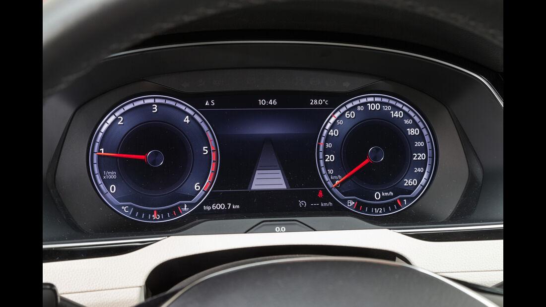 VW Passat Variant 2.0 TDI, Rundinstrumente