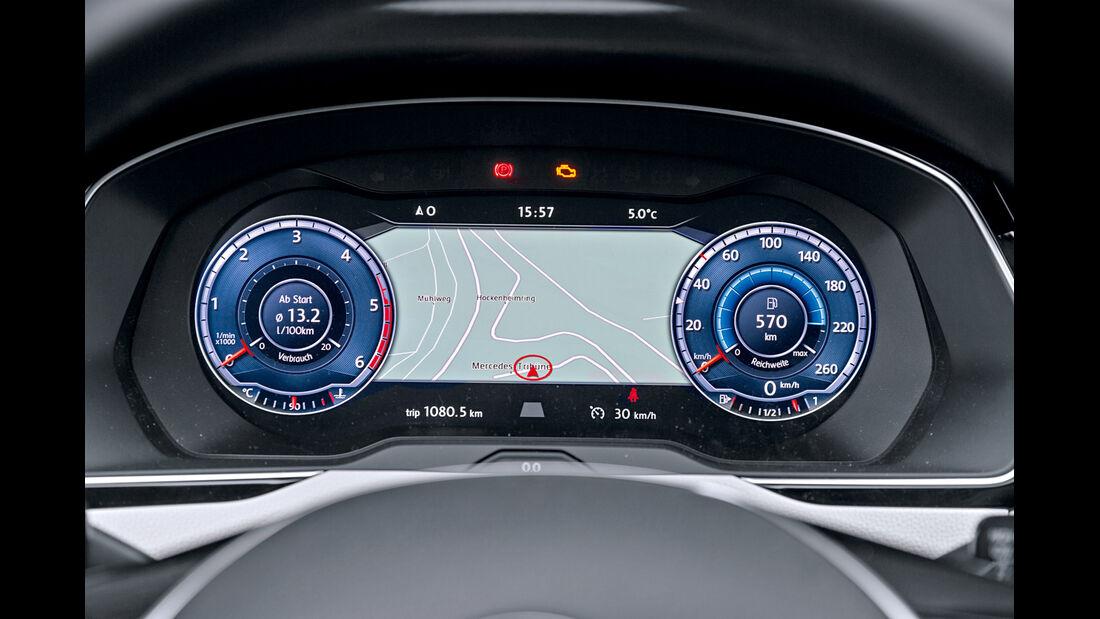 VW Passat Variant 2.0 TDI, Rundinstumente