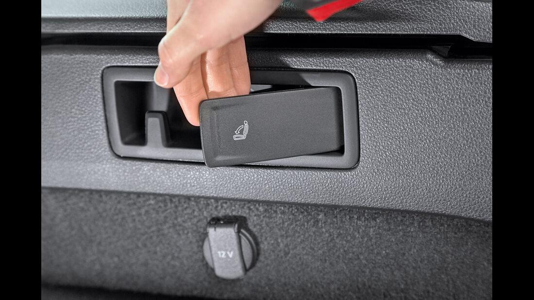 VW Passat Variant 2.0 TDI, Sitz, Umklappen