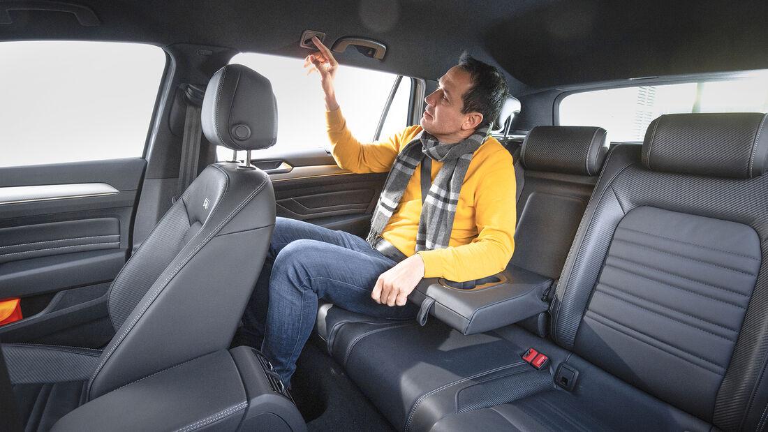 VW Passat Variant 2.0 TSI 4Motion, Interieur