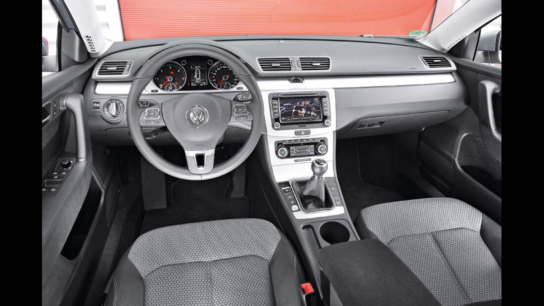 VW Passat Variant Blue Motion, Cockpit