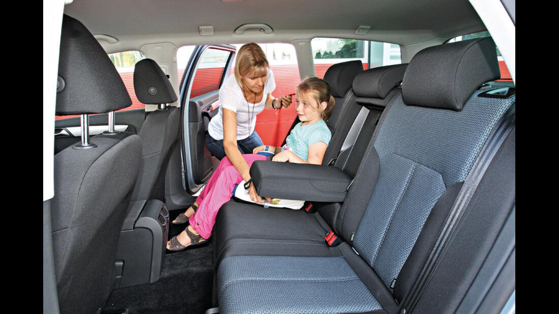 VW Passat Variant Blue Motion, Fond