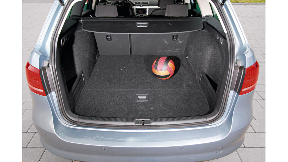 VW Passat Variant Blue Motion, Kofferraum