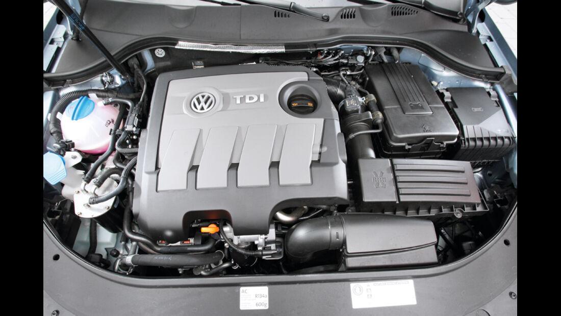 VW Passat Variant Blue Motion, Motor