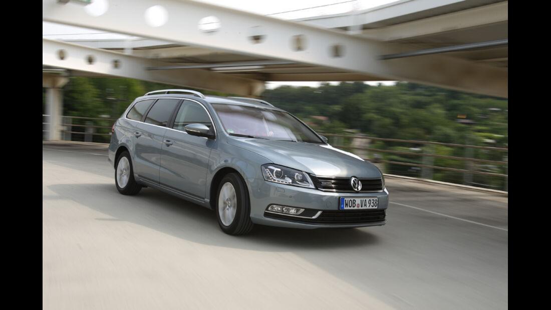 VW Passat Variant BlueMotion, Frontansicht