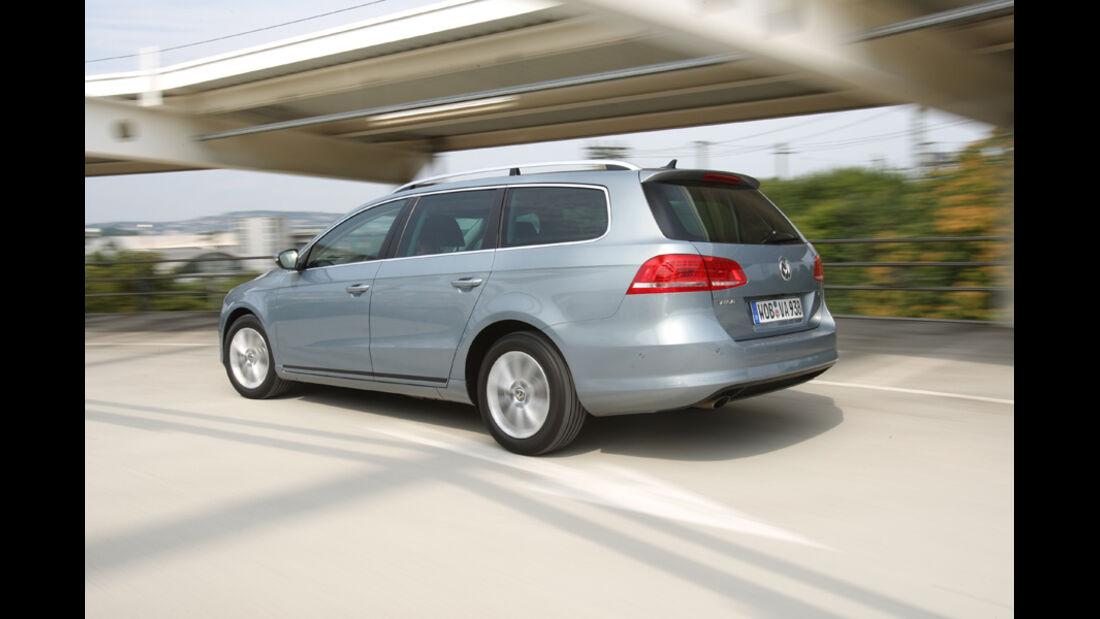 VW Passat Variant BlueMotion, Heck, Rückansicht