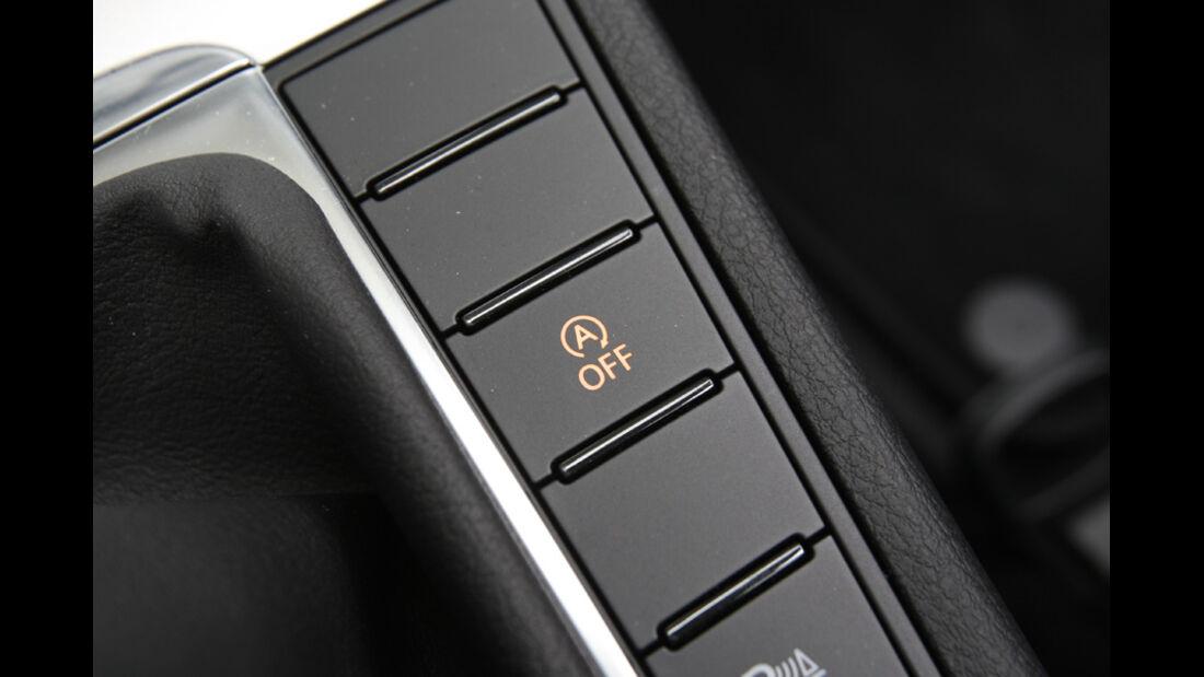 VW Passat Variant BlueMotion, Knöpfe, Bedienelemente