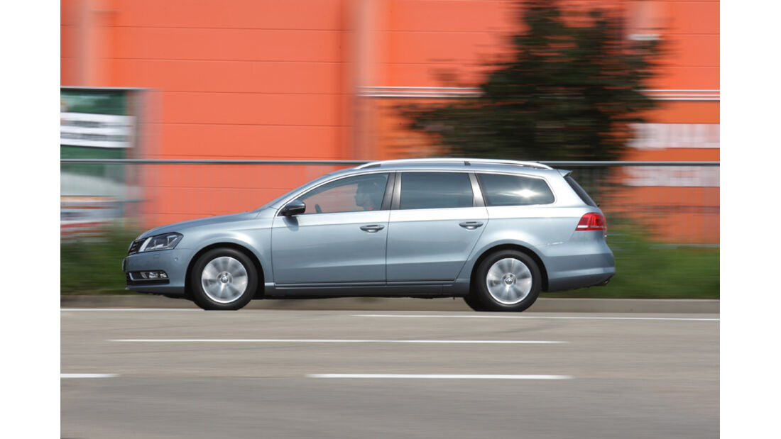 VW Passat Variant BlueMotion, Seitenansicht