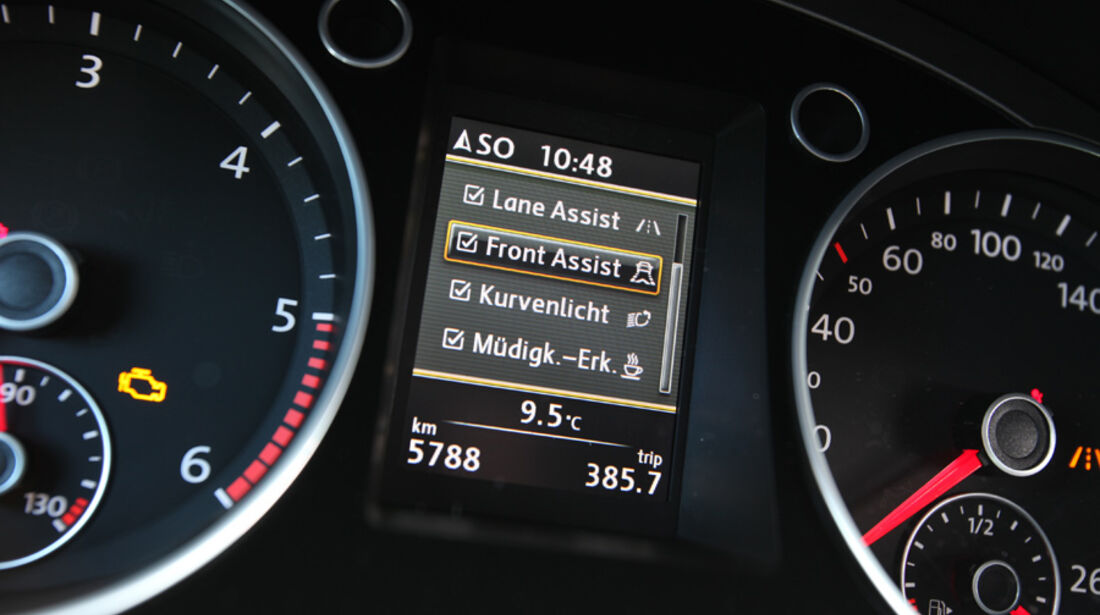 VW Passat Variant, Display