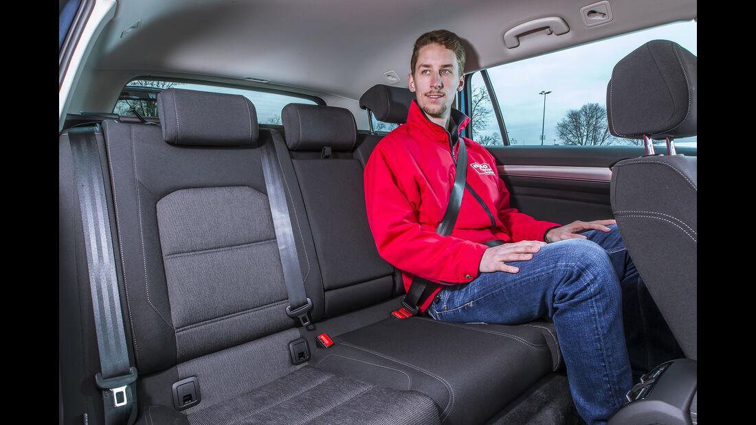 VW Passat Variant  Fond