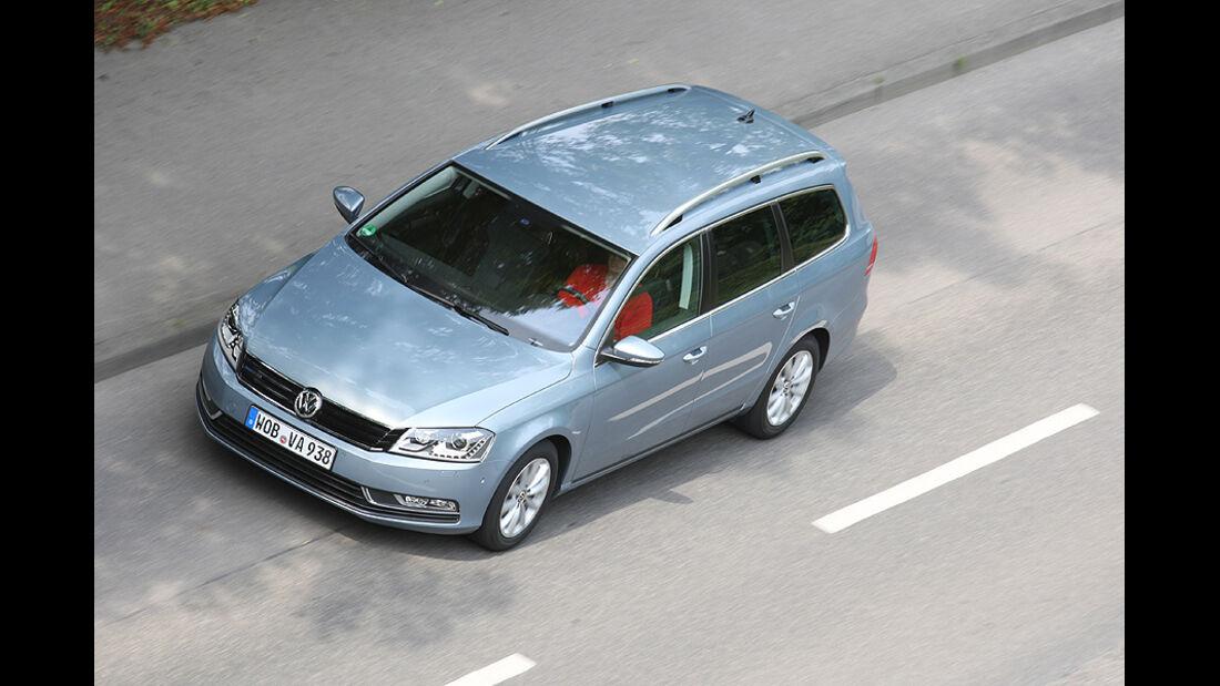 VW Passat Variant, Front