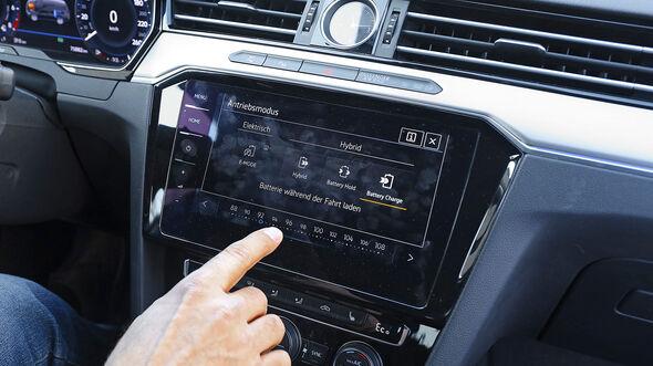 VW Passat Variant GTE, Infotainment