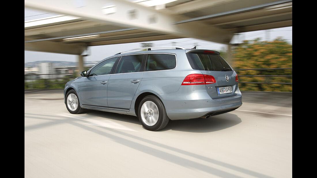 VW Passat Variant, Heck