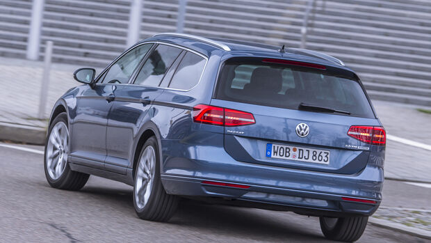 VW Passat Variant  Heck