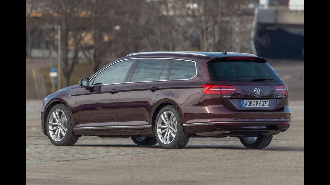 VW Passat Variant, Heckansicht