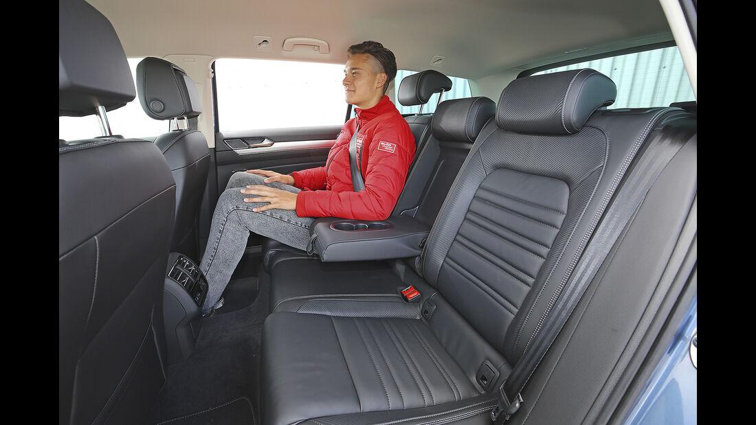 VW Passat Variant, Interieur