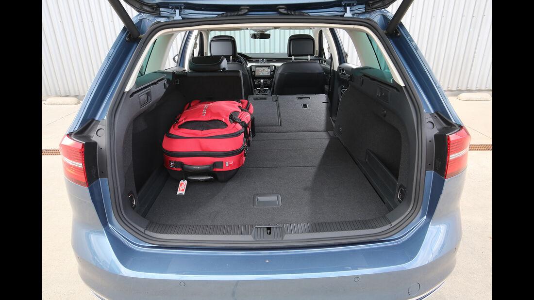 VW Passat Variant, Interieur, Kofferraum