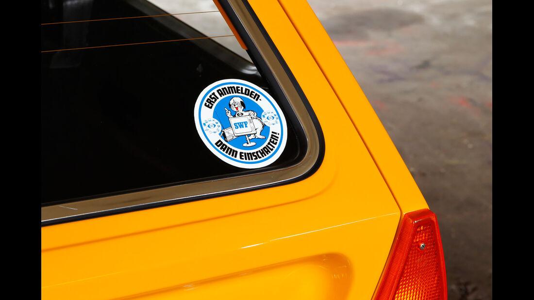VW Passat Variant L, Heckscheibe