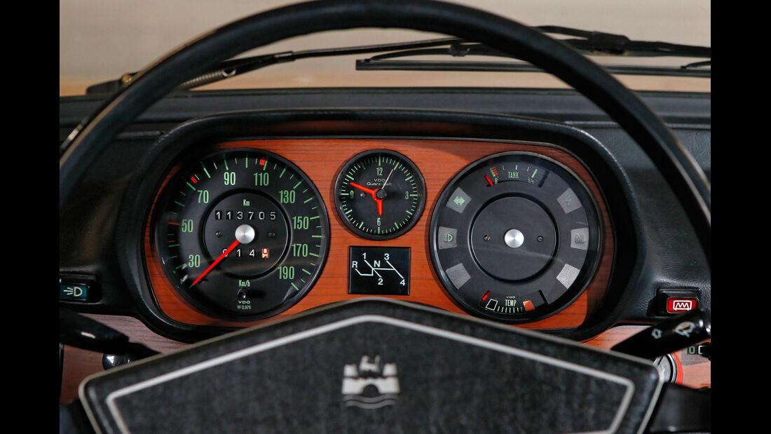 VW Passat Variant L, Rundinstrumente