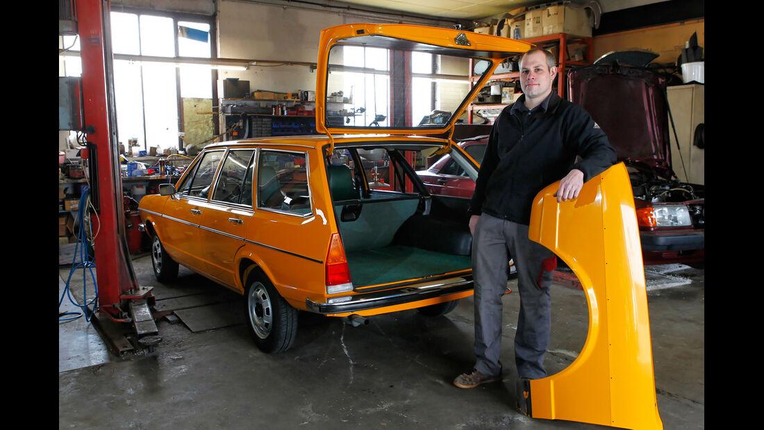 VW Passat Variant L, Werkstatt