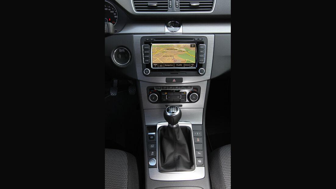 VW Passat Variant, Mittelkonsole