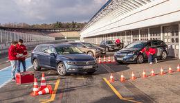 VW Passat Variant, Opel Insignia ST, Peugeot 508, Hyundai i40 Kombi