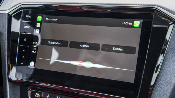VW Passat Variant R-Line Edition, Interieur