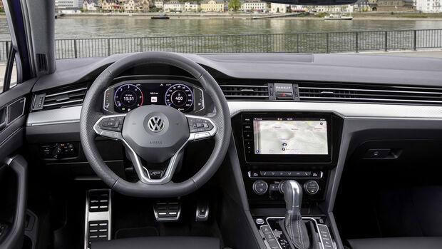 VW Passat Variant R Line, Interieur