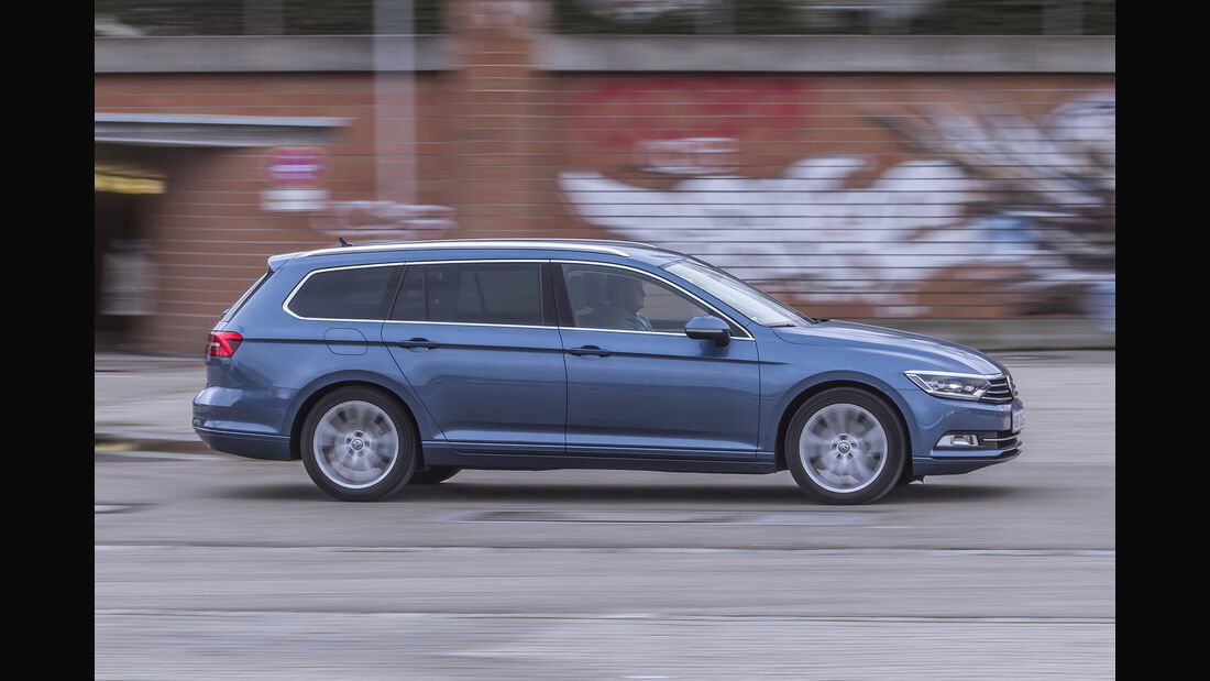 VW Passat Variant Seite