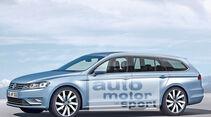 VW Passat Variant, Seitenansicht