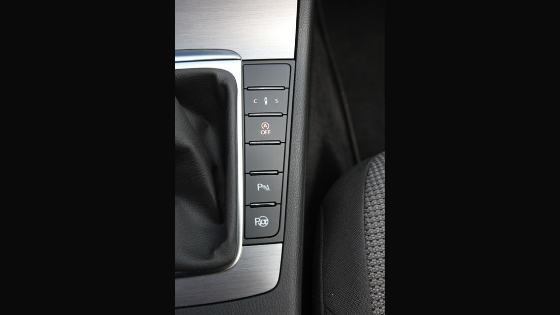 VW Passat Variant, Tasten