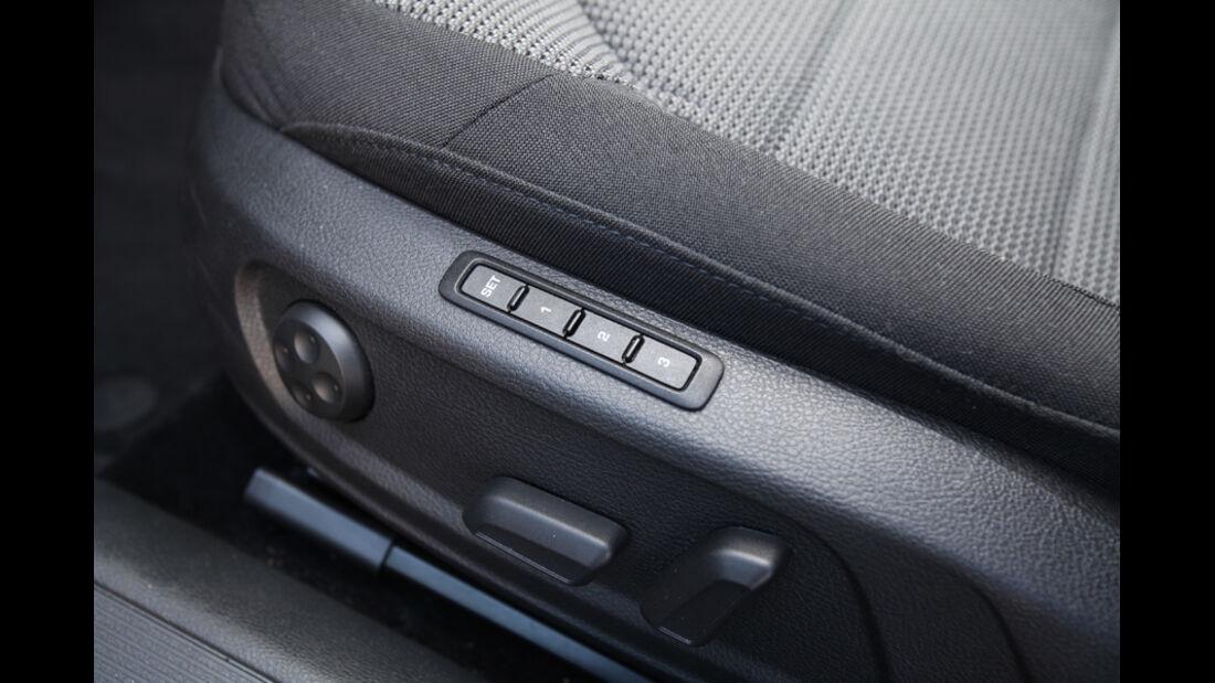 VW Passat Variant, Tasten, Sitzverstellung