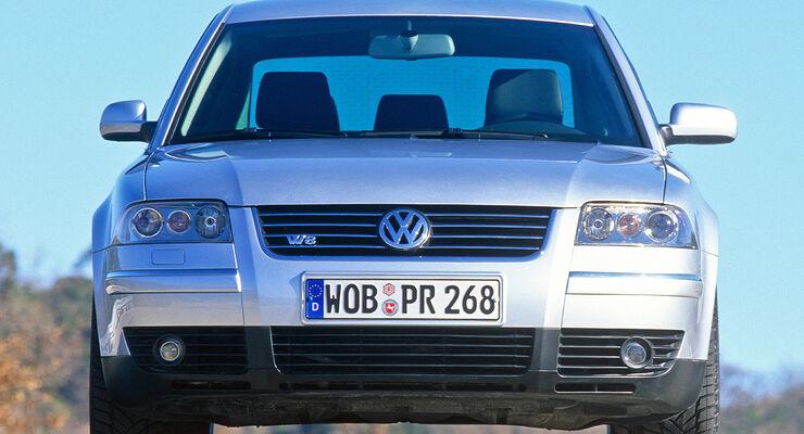 VW Passat W8, Frontansicht